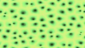Bakterium unter Mikroskop vektor abbildung