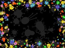 Bakteriumrand Stockfotografie