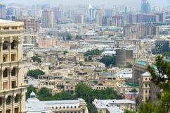 Baku. View of Baku city - capital of Azerbaijan Stock Image