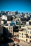 Baku-alte Stadt Stockfotografie