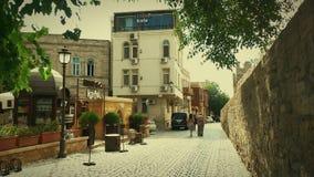 Baku-alte Stadt Lizenzfreie Stockfotos
