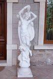 BAKU, ASERBAIDSCHAN - 17. Juni 2015: Äußeres des Landhauses Petrolea Stockfoto