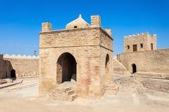 Baku Ateshgah Fire Temple stock images