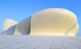Baku, Azerbaijão - 24 de maio de 2014 Heydar Aliyev Center, galeria da exposição em Baku Imagens de Stock Royalty Free