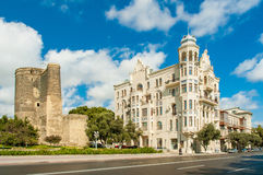 Baku Azerbaijan. Ancient Maiden Tower in Baku Azerbaijan Stock Photography