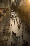 Baku, Azerbaijan, Center street. Stock Image