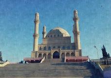 Baku. Azerbaijan, city Baku Royalty Free Stock Photo