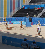 BAKU,AZERBAIJAN-THE FIRST EUROPEAN GAMES-JUNE 20,2015-BEACH VOLL Stock Image