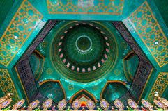 Bibi-Heybat Mosque - Baku, Azerbaijan. Baku, Azerbaijan - Jul 14, 2018: The Bibi-Heybat Mosque is a historical mosque in Baku, Azerbaijan. The royalty free stock images