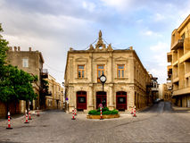 BAKU, AZERBAIJAN - JULY 24:Icheri Sheher (Old Town) of Baku, Azerbaijan, on July 24, 2014, with great modern architecture. Stock Photography