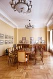 BAKU, AZERBAIJAN - 17 June, 2015: Room in the Villa Petrolea Stock Photo