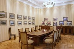 BAKU, AZERBAIJAN - 17 June, 2015: Room in the Villa Petrolea Stock Image