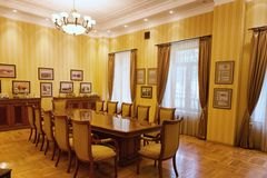 BAKU, AZERBAIJAN - 17 June, 2015: Room in the Villa Petrolea Royalty Free Stock Images