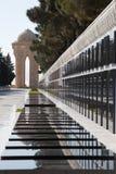 Baku, Azerbaijan, monumento do memorial da volta fotografia de stock