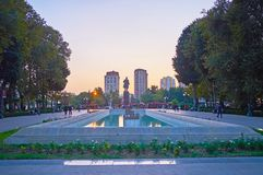 The central park of Baku Royalty Free Stock Images