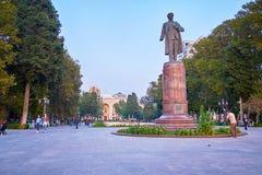 Beautiful park in Baku Stock Photos
