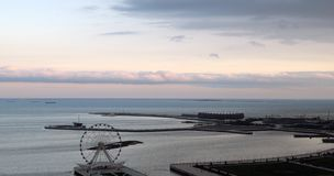 Baku, Azerbaijan. Sea view. Stock Photography