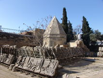 Baku. Azerbaijan. Shirvanshahs Palace and tomb in the old town Royalty Free Stock Image
