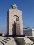 Baku Azerbajdzjan Monument av den sovjetiska hjälten Arkivfoton