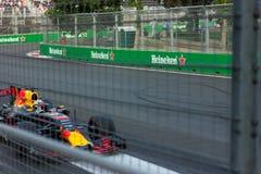 Baku, Azerbeidzjan - Juni 06, 2017: Formule 1 Grand Prix van de Grand Prix van Azerbeidzjan royalty-vrije stock afbeelding