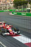 Baku, Azerbeidzjan - Juni 06, 2017: Formule 1 Grand Prix van de Grand Prix van Azerbeidzjan stock afbeelding