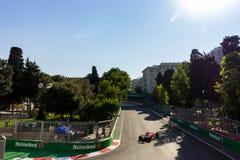 Baku, Azerbeidzjan - Juni 06, 2017: Formule 1 Grand Prix van de Grand Prix van Azerbeidzjan stock afbeeldingen