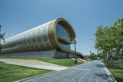 Baku Azerbejdżan dywanu muzeum Zdjęcia Royalty Free