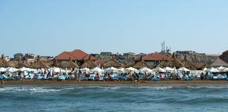 Baku Beach Holiday lizenzfreies stockbild