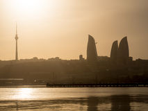 Baku Boulevard Royalty Free Stock Photography