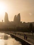 Baku Boulevard Stock Photos