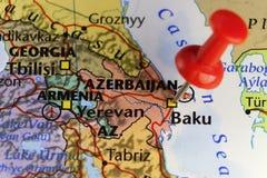 Baku capital city of Azerbaijan Stock Images