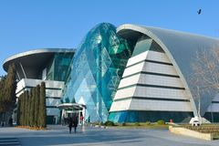 Baku - the capital of the summer European Olympic Games 2015, old city streets Royalty Free Stock Images