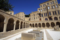 Baku City. Old Town of Baku City in Azerbaijan Royalty Free Stock Images