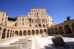 Baku City. Old Town of Baku City in Azerbaijan Royalty Free Stock Image