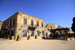 Baku City Royalty Free Stock Photography