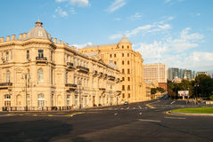Baku City Circuit for European Grand Prix F1 Stock Image