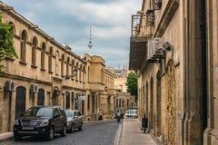 Baku city Royalty Free Stock Photos