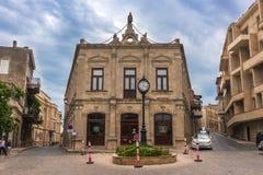 Baku city. Icheri Sheher streets, Baku city, Azerbaijan Royalty Free Stock Images