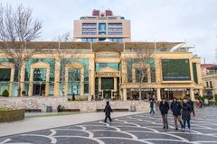 Baku city. Modern shopping centre Royalty Free Stock Images