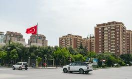 Baku city streets Stock Photography
