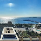 Baku City Summer. Azerbaijan Baku City View Stock Images