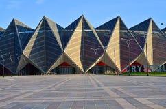 Baku Crystal Hall,on the boulevard of the Caspian Sea stock photos