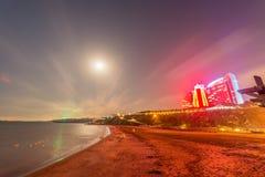 Baku, CZERWIEC - 29, 2015: Jumeirah hotel na Czerwu 29 w Baku, Azerbai Zdjęcie Stock