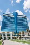 Baku - 18 de julho de 2015: Hilton Hotel o 18 de julho em Baku, Azerbaija Imagem de Stock