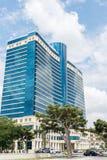 Baku - 18 de julho de 2015: Hilton Hotel o 18 de julho em Baku, Azerbaija Fotos de Stock Royalty Free