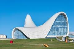BAKU 27. DEZEMBER: Heydar Aliyev Center an Lizenzfreies Stockbild