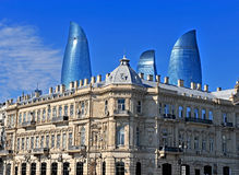 Baku downtown, Azerbaijan Royalty Free Stock Image