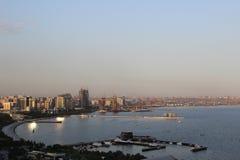 Baku-Hafen Lizenzfreie Stockfotos