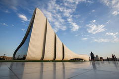 Baku Heidar Aliyev Cultural Center, Azerbaijan Fotos de archivo libres de regalías