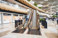 Baku Heydar Aliyev Airport Images libres de droits